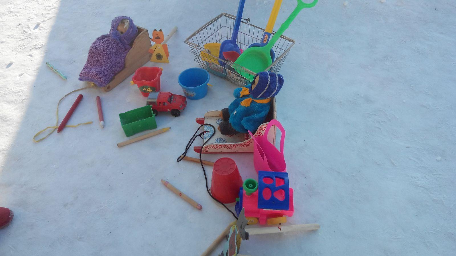 Игрушки своими руками для прогулки в детском саду 51